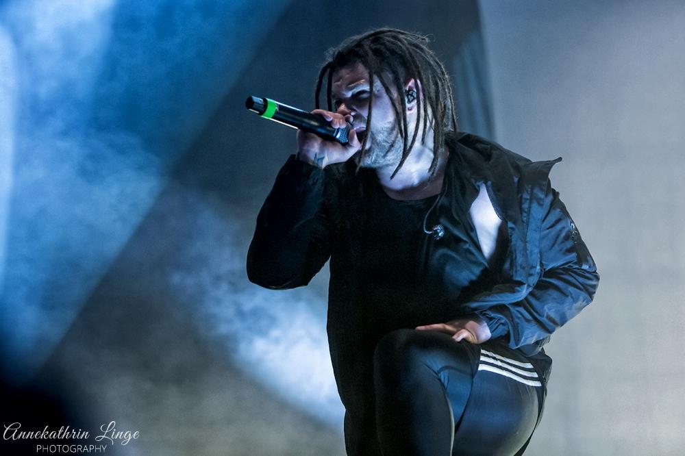 28.04.2018: Impericon-Festival in Leipzig (Messe) - Eskimo Callboy